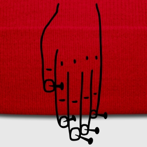 Hand with nails T-Shirts - Winter Hat