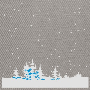 Christmas Winter Wonder Land T-Shirts - Snapback Cap