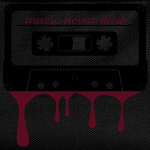 music never died cassette  T-Shirts - Kids' Backpack