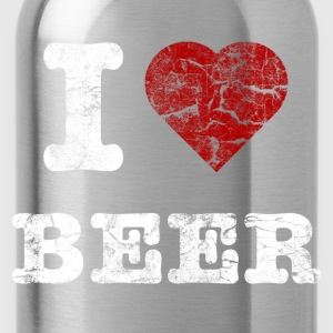 i_love_beer_vintage_hell Camisetas - Cantimplora