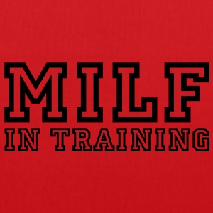 milf in training T-Shirts - Stoffbeutel