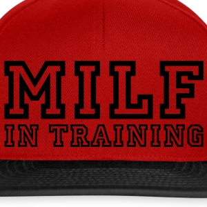 milf in training T-shirt - Snapback Cap