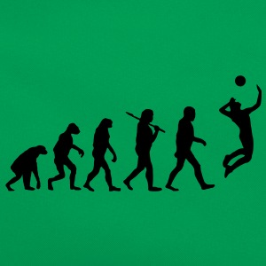 evolution of volleyball T-Shirts - Retro Tasche