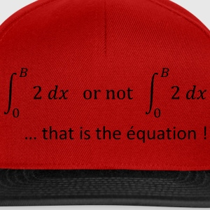 to_be_or_not_to_be_humour_maths Tee shirts - Casquette snapback