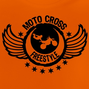 motocross freestyle motorcycle4 aille Tee shirts - T-shirt Bébé