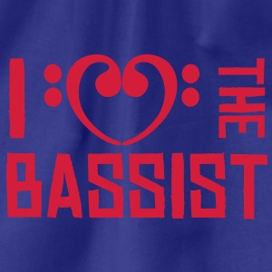 I love the Bassist T-shirts - Gymtas