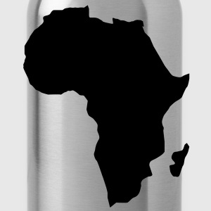 Afrika het donkere continent  T-shirts - Drinkfles