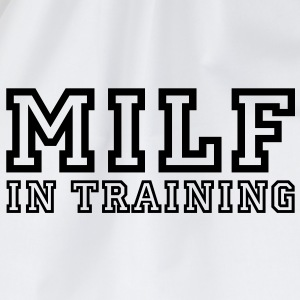 milf in training T-Shirts - Turnbeutel