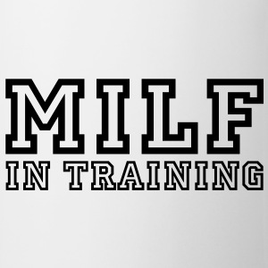 milf in training T-skjorter - Kopp