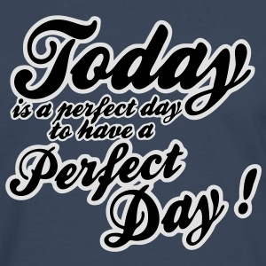 today is a perfect day T-skjorter - Premium langermet T-skjorte for menn