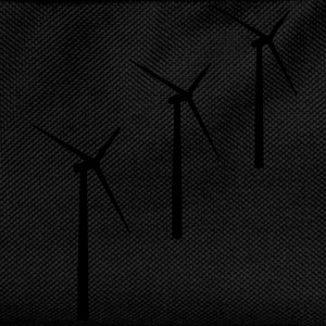 3 wind turbines wind energy T-Shirts - Kids' Backpack