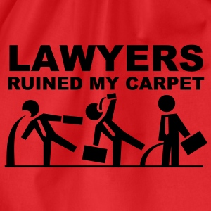 Lawyers ruined my carpet T-Shirts - Turnbeutel