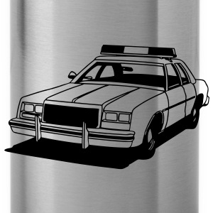 Police Car Retro T-shirts - Drinkfles