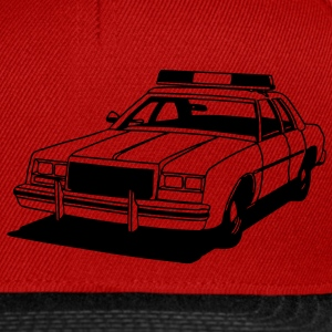 Police Car Retro T-Shirts - Snapback Cap
