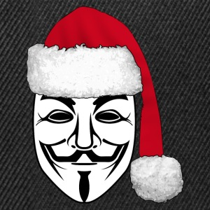 anonymous christmas 1 T-Shirts - Snapback Cap
