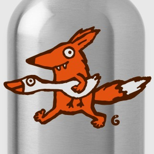 fox and goose T-Shirts - Trinkflasche