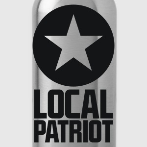 Local Patriot Star T-Shirts - Trinkflasche