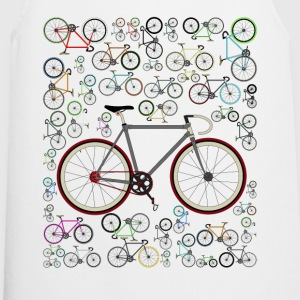 Cycling Love Fixie Road Bike T-Shirt - Cooking Apron