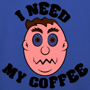 i need my coffee T-Shirts - Kids' Premium Hoodie