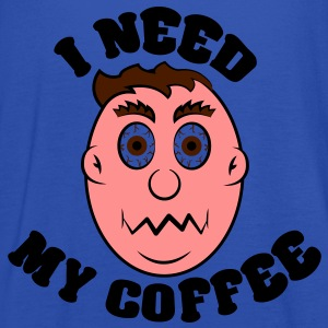 i need my coffee T-shirts - Vrouwen tank top van Bella