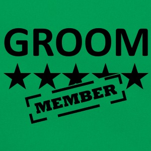 groom member T-Shirts - Retro Tasche