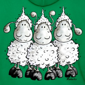 Mc Wool - sheep t-shirt design T-Shirts - Men's Premium Hoodie