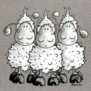 Mc Wool - sheep t-shirt design T-Shirts - Snapback Cap