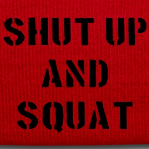 Shut Up And Squat T-shirts - Vintermössa