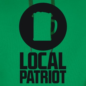 Local Patriot Beer T-Shirts - Männer Premium Hoodie