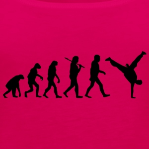 evolution of breakdance Camisetas - Camiseta de tirantes premium mujer