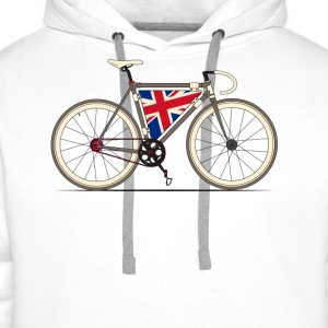 Love Bike, Love Britain T-Shirts - Men's Premium Hoodie