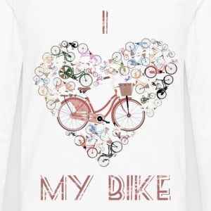 I Love My Bike T-Shirts - Men's Premium Longsleeve Shirt