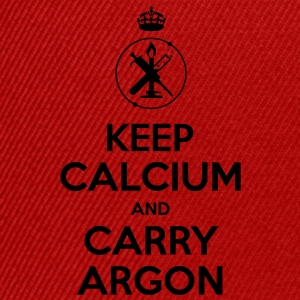 keep calium and carry argon T-Shirts - Snapback Cap