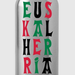 euskal herria fonts T-Shirts - Water Bottle