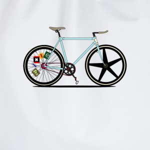 Fixie Bike T-Shirts - Drawstring Bag