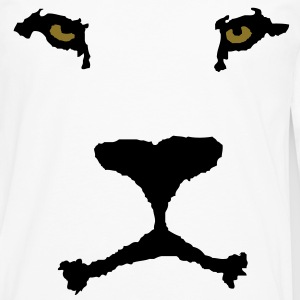 Lion face T-Shirts - Men's Premium Longsleeve Shirt