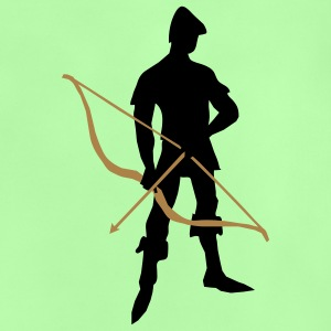 Archer with recurve bow by patjila Shirts - Baby T-Shirt