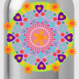 mandala T-Shirts - Water Bottle