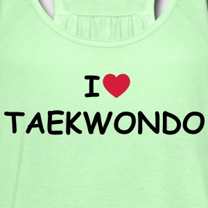 I love/heart Taekwondo T-Shirt - Frauen Tank Top von Bella