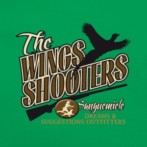 the_wings_shooters T-Shirts - Retro Bag
