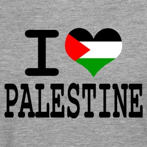 i love Palestine Tee shirts - T-shirt manches longues Premium Homme
