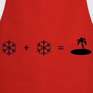 winter, vacation - Cooking Apron