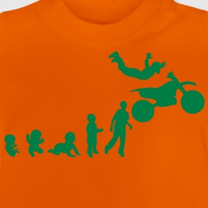 evolution freestyle9 motocross motrocycl Tee shirts - T-shirt Bébé