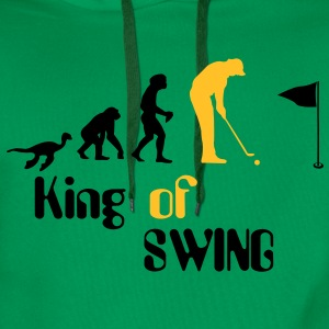 Evolution Golf King of Swing Koszulki - Bluza męska Premium z kapturem