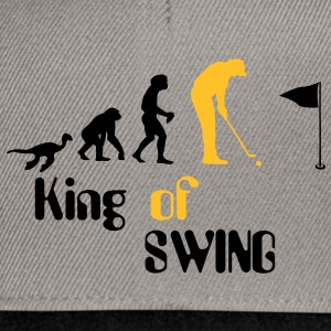 Evolution Golf King of Swing T-shirts - Snapback Cap