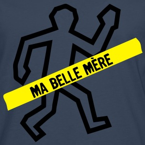 scene crime trace cadavre belle mere Tee shirts - T-shirt manches longues Premium Homme