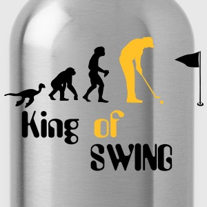 Evolution Golf King of Swing T-shirts - Vattenflaska