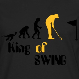 Evolution Golf King of Swing T-skjorter - Premium langermet T-skjorte for menn