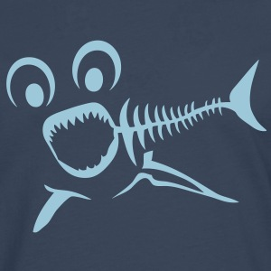 poisson fish arete bone fischgrate requi Tee shirts - T-shirt manches longues Premium Homme