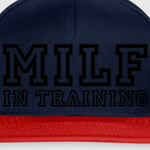 milf in training Tee shirts - Casquette snapback